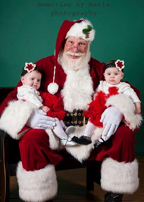 First Santa Visit