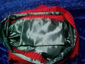 Santa bag inside
