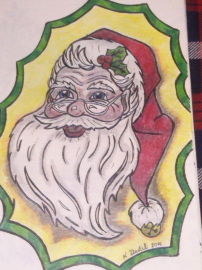 One Of many Santa Drawings