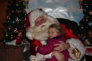 Hugs For Santa Claus - Kringleville 2010