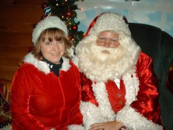 Chief Kringleville Elf, Cinnamon and Santa Claus