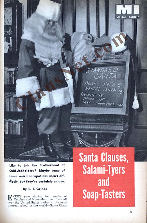 Mechanix Illustrated December 1952