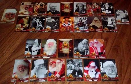 santa claus hall of fame cards