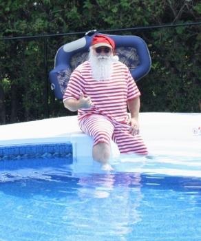 Swim Santa
