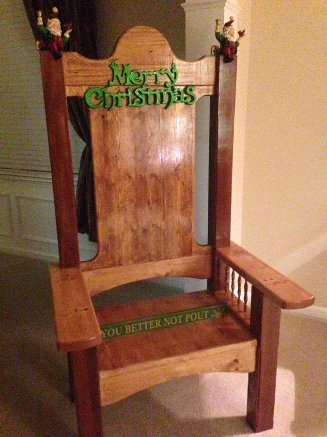My Santa Chair