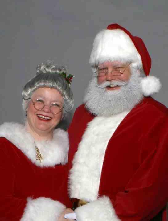 Mrs. Claus Tries the Gray Look