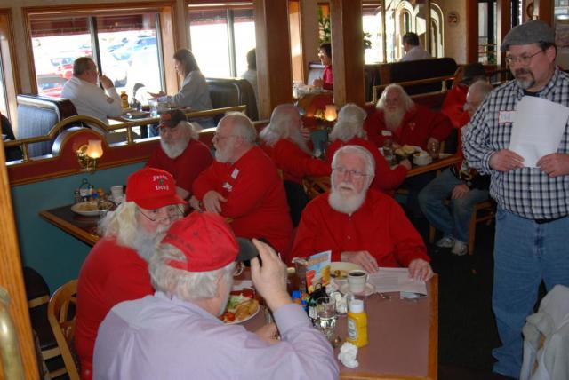 Illinois Santa luncheon