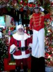 Santa & Toy Soldier at Decorator's Warehouse