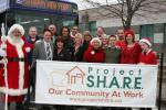 Santa & Project Share in Niagara