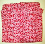 Pj bottoms, Red Wht snowflake