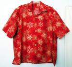 Hawaiian Shirt for a Santa in Las Vegas