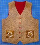 Mariah's vest front