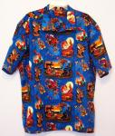 """Cowboy Santa"" Hawaiian Shirt"