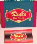 Santa Norm's custom logo wallet