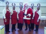 Santa @ the jail 2009