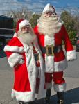 Traditional Santas 2014,Cape Cod Dave T and I