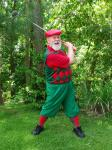Stylish Santa Claus plays Golf On His Vacation copy2