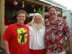 Elf Eric. Mr. Santa (Mike Stroh), Santa Dave