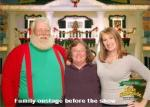 SCSanta, Mrs. Claus and Daughter pre-show photo