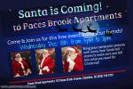 SANTA IS COMING To Pace's Brook