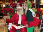 Santa With Earth Fairy