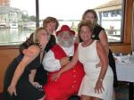 santa gets all the girls!