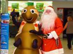 Santa in Central Australia