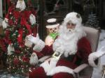 Santa at McDonalds 2