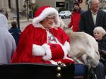 Mrs. Claus at Downtown Racine