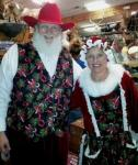 Cowboy Santa And Mrs. Claus At Horsetown 2012