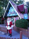 Me outside Santa House