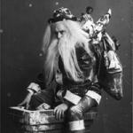 vintage santa circa unknown