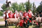From Santa Edson's Camera- Jolly men in red and helpers