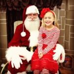 Anna was a real help Sunday at Jack Anna Beanstalk. SHe may be a new Elf in the making!