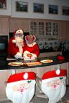 Santa & Mrs Claus in Vero Beach  Kitchen