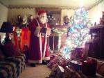 Flannel Santa