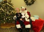 Little R And Santa 2012