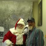 Billy C. & Santa