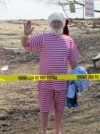Santa Don after the Plunge 2014