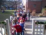 Waterville 12 09 12 Line To See Santa goes To Main Street