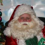 The Face of Santa Claus in Waterville, Maine U.S.A.