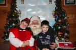 Jolly the Elf and a Friend from Cub Scouts - Kringleville 2010