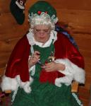 Mrs. Claus is A very Popular Lady at Kringleville
