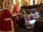 Santa at St. Mary's Church