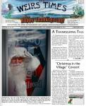 Santa Weirs Times front page