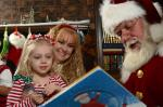 Mrs Claus and I reading