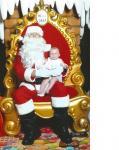 Santa Andrew & granddaughter