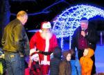 Santa At Cody Park Opening 2014
