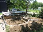 Building pond