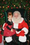 Santa and Abigail